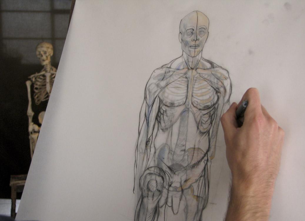 TALLER TRESCIENTOS UNO ¡El Taller intensivo de dibujo anatómico fue ...